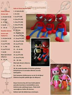 Amigurumi Tricot Jouet Spider Man Modèle Construction #amigurumi #construction #Jouet #Man #Modèle #Spider #tricot