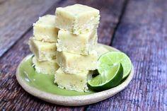 Key Lime Fudge from @RecipeGirl {recipegirl.com} {recipegirl.com}