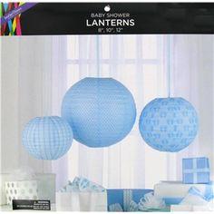 Blue Baby Shower Paper Lanterns | Shop Hobby Lobby