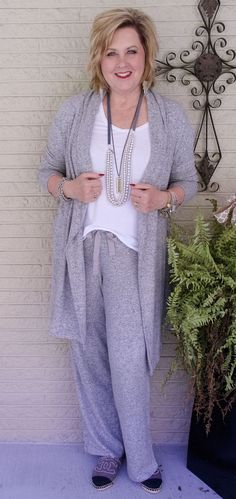 50 IS NOT OLD | LOUNGEWEAR FOR COMFORT | #ad | #Sponsored | Loungewear | Soft and Comfortable | Fashion over 40 for the everyday woman | @anthonysfla | Anthony's Ladies Apparel