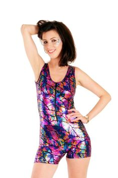 0d86c1bb7bbe State of Disarray! Rainbow Sequin Print - Backless Play-Suit  #stateofdisarray #recklessfashionrevolution