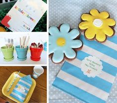 April Showers party theme