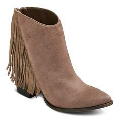 472e5086c907 Women s Delaney Fringe Western Boots - Mossimo Supply Co.