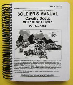 STP 17-19D1-SM Soldier's Manual - Cav Scout - 19D, SL1