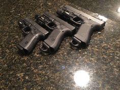 Glock 19, 17, 34