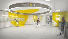 Resultado de imagen de interior design as subway station