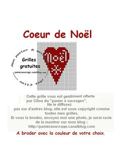 Coeur de Noël Christmas Cross, Christmas Gifts, Xmas, Little Stitch, Cross Stitching, The Creator, Embroidery, Crossstitch, Crafts