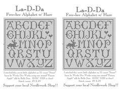 Alphabet & Hare.jpg 2.200×1.700 pixels