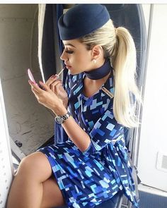 Hot Flight Attendant