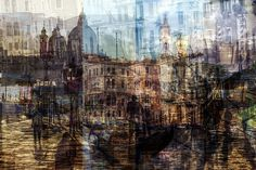 """Urban Melodies"" Consist of Multiple Exposures from Famous Cityscapes - My Modern Met"