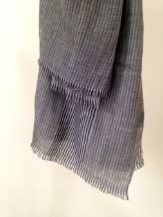 19 Andrea's 47 Cashmere Grey Striped Scarf This scarf is crafted from cashmere, making it incredibly soft to touch. It is delicately patterned with grey stripes. Stunning to the eye and to touch. Made in Italy. Grey Stripes, Cashmere, Italy, Touch, Eye, Pattern, How To Make, Accessories, Collection
