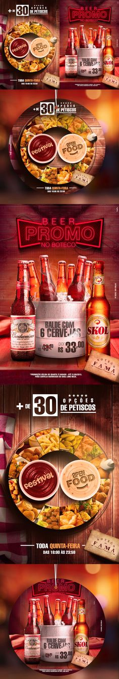 Ação interna - Boteco da Fama on Behance