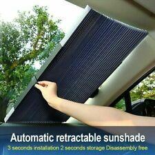 Black Keenso 2 x 50s Universal Car Sun Shade Window Curtain Adjustable SunShade Drape Visor Valance Curtain Front and Rear Side Car Sun Shades for Baby /& Pets Reflect UV Anti-Mosquito