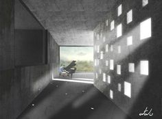 Olafur Eliasson's house corridor project
