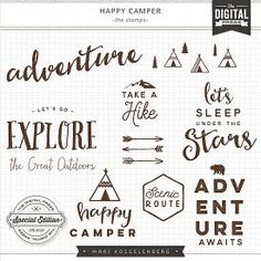 Happy Camper | Stamps