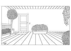 Veranda (2015) #Draw #Drawing #Disegno #Ink #Inking #Inchiostrazione #Illustration #Illustrazione #Veranda