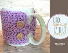 mug cosy pattern - Google Search