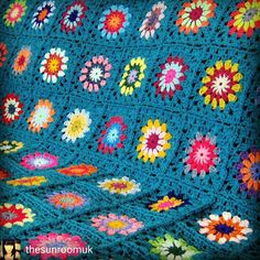 Check out this item in my Etsy shop https://www.etsy.com/uk/listing/473930320/teal-crochet-blanket-large-retro