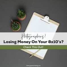 What if I told you that your photography pricing plays a huge factor in how much money you'll make in your photography business? That little 8×10 is not just a product you sell, it's the canary in the coal mine. It's the #1 number your clients use to compare you with every other photographer, and it's how you are measured against them! I'm going to show you 4 steps to making a solid profit on your 8×10 prints Photography Pricing, Photography Business, Coal Mining, Plays, Joy, Number, Marketing, Creative, Prints