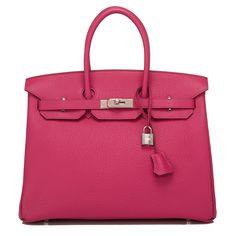 c29b540272a9  Hermes  Birkin  Bag Tosca Fjord Palladium Hardware Hermes Handbags