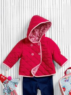 Burda PDF pattern - Quilted Baby Coat 09/2013 #143 (mini-Boden knock-off)
