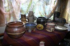 Clay pots. Design. Art. Lalele Pottery.