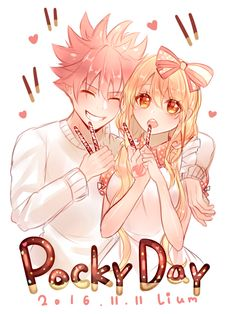 NaLu: Pocky Day