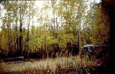 Maali.   Kuvan oikeassa reunassa näkyvä vaalea terästolppa oli maalivaatteen kannake. Ajosuunta vasemmalta oikealle. Kartassa maali  on  ylhäällä levennysosassa. 2000