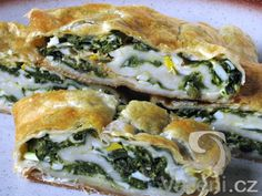 Czech Recipes, Ethnic Recipes, Spanakopita, Bread Recipes, Quiche, Tapas, Natural Remedies, Pizza, Food And Drink