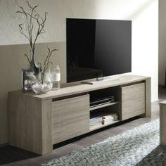 Mueble de TV blanco con 2 cajones | Newport, HEMNES and Ikea hack