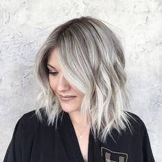 Grunge meets glam bob by Brittany Gonzales