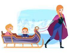Si las Princesas de Disney fueran mamás: Ana