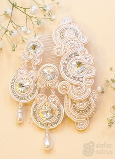 JASMINE - soutache wedding jewelry