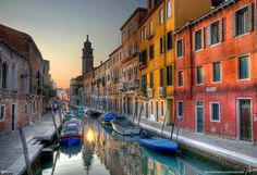 Rio di San Barnaba - Venice, Italy.      I hope Lanyon takes me here one day! lol. No, but seriously...