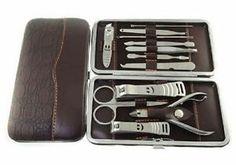Home Travel Manicure Set Pedicure Sets Men Women Kit Nails Cuticle File Trimmers | eBay
