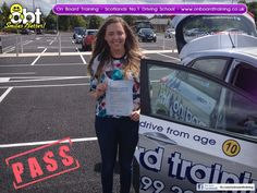 OBT Driving Instructor Callum Miller helped Hannah pass her driving in East Kilbride on the 17th July 2014. OBT Driving Instructor Callum Miller helped Johny pass his driving test on Monday 5th August 2014. On Board Training is Scotland's Number 1 Driving School. We provide all manner of driving lessons from normal on road lessons for those aged 17 and older plus our famous under age driving lessons for kids aged from 10 to 16.