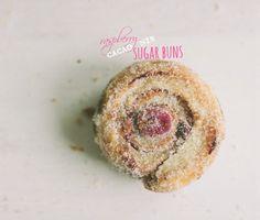raspberry cacao nib sugar buns + a giveaway!