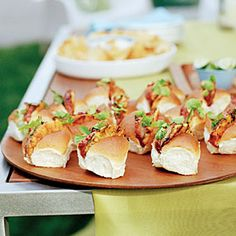 I tried it at my Hawaiian luau party  Awesome!  Char siu–glazed Pork and Pineapple Buns   Sunset.com