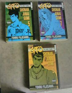 GTO: The Early Years Shonan Junai Gumi Vol. 9,7,5 Manga Books in English