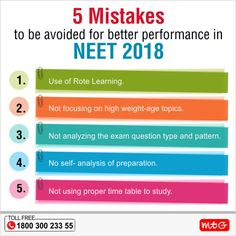 Check out some common mistakes that students make while preparing for NEEET Exam. Exam Study Tips, Study Skills, Exam Motivation, Student Motivation, Mtg Books, Neet Exam, Medical Quotes, Exam Time, Life Hacks For School