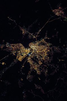 Belgrade from space