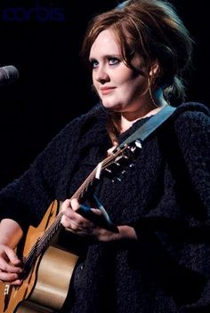 "Photo Tim Mosenfelder @CorbisImages    Adele performs in support of her ""Chasing Pavements"" release at The Warfield on January 29, 2009"