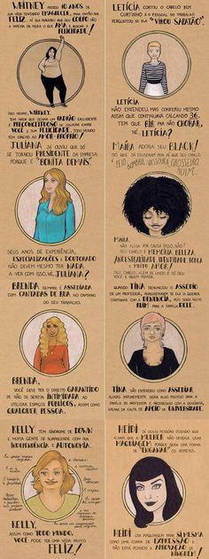 """Na internet, o sucesso da ilustradora mineira é grande. São mais de 270 mil curtidas na página que leva seu nome no Facebook. Agora, ela conquista as prateleiras das livrarias com o lançamento do livro """"Mulheres"""", uma compilação de seus trabalhos mais significativos sobre feminismo e liberdade. Batemos um papo com ela, confira!"""