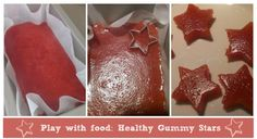 Play With Food: Healthy Gummy Treats Recipe - Mums Lounge - The Shopping and Lifestyle Website for Mums | Home & Garden
