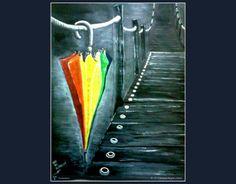 Monsoon...... #Creative #Art #Painting @Touchtalent.com