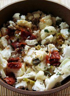Неделя итальянской кухни: цветная капуста с томатами, розмарином и фенхелем