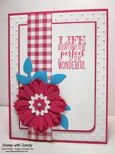 Stamp With Sandy: Life Doesn't Have to be Perfect, DD97 & SSSC214