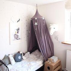 Sweet dreams… Numero74 canopy in Dusty Lilac