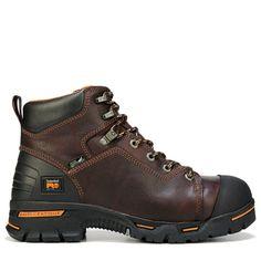"Timberland Pro Men's Endurance PR 6"" Soft Toe Work Boots (Briar)"