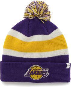 52f50014ece  47 Men s Los Angeles Lakers Breakaway Knit Hat